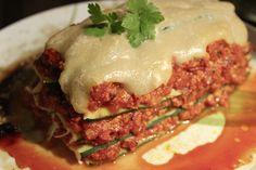 Schichting #2: Zucchini-Lasagne mit Bolognese-Füllung und Cashewcreme aus dem allseits beliebten VVF