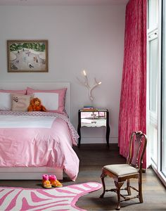 Designing Kids' Spaces | Storybook and Sophisticated Girls Room on Remodelaholic.com