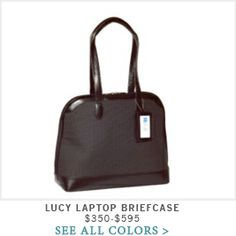 Alicia Klein - Lucy Laptop Briefcase #techstyle