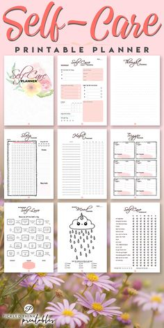 Are you looking for ways to create an effective self-care routine? Having a self-care routine does not only increase your happiness and productivity but it also improves your mental health and overall well-being. With the help of this self care printable planner, you can start creating an effective self care routine to help you find lasting peace and happiness, increase productivity and help you live a happier and healthier life.