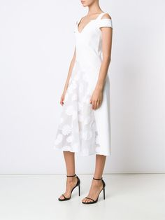 Roland Mouret embroidered dress