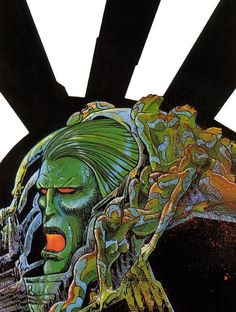 Art by Philippe Druillet
