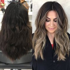 "2,439 Likes, 63 Comments - BRITTANY GONZALEZ (@hairbybrittanyy) on Instagram: ""Getting excited for that fall hair  #babylights #hairpainting #sombre #balayage #bronde…"""