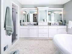 Bloomfield Village Master Bathroom remodel by MainStreet Design Build.