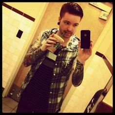 Such a cutie and a HUGE inspiration! One of the nicest people I've ever met.top 3 probably. Memphis May Fire, Feel Like Giving Up, Music Bands, Cool Bands, How Are You Feeling, Gauges, Badass, Tattoos, People