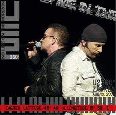 U2 - 2009- Zagreb, Croatia