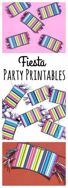 Fiesta Party Printab
