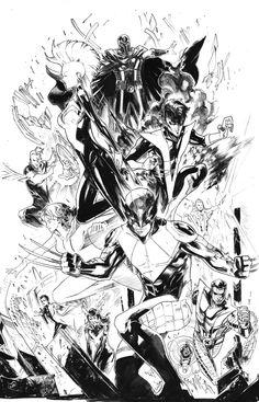 X-Men by Peter Nguyen