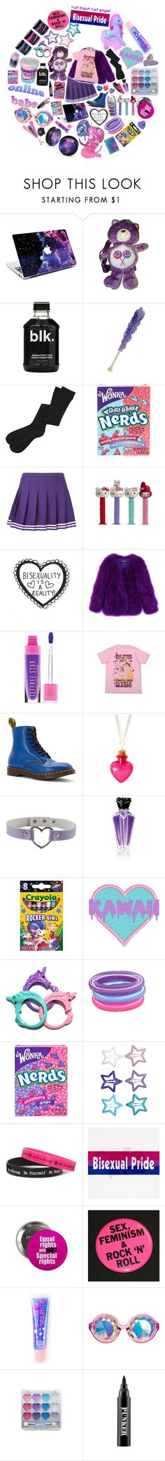 """Life of bi"" by sw-13 ❤ liked on Polyvore featuring Nokia, River Island, Hello Kitty, Balmain, Dr. Martens, claire's, Hot Topic, Zippo, H&M and Cotton Candy"