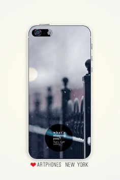 Inspirational iPhone case