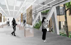 Galería - Mención para UMWELT en el Concurso Edificio Anexo Museo Histórico Nacional de Chile - 2