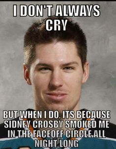 I can't stand Sidney Crosby, but this is funny. Pens Hockey, Hockey Teams, Hockey Players, Ice Hockey, Pittsburgh Sports, Pittsburgh Penguins Hockey, Ontario Reign, Hockey World, Lets Go Pens