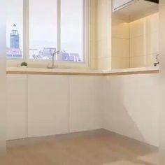 Kitchen Cupboard Designs, Kitchen Room Design, Diy Kitchen Storage, Home Room Design, Modern Kitchen Design, Bathroom Interior Design, Small Kitchen Designs, Kitchen Wardrobe Design, Clever Kitchen Ideas