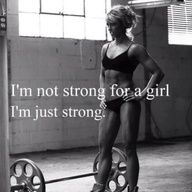 Strong is strong.
