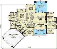 Exciting Craftsman House Plan - 14649RK | 1st Floor Master Suite, Bonus Room, CAD Available, Craftsman, Den-Office-Library-Study, Jack & Jill Bath, MBR Sitting Area, Mountain, Northwest, PDF, Split Bedrooms | Architectural Designs