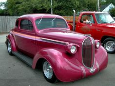 1937 plymouth coupe | Cars 1938 Plymouth Chopped 5 Window Coupe Rose Metallic Fvr 2005 Dream ...