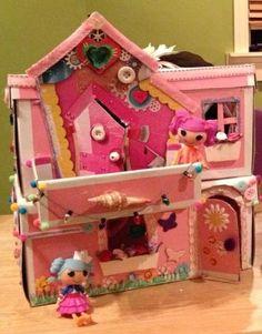 diy 2 story lalaloopsy dollhouse