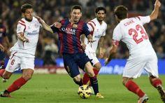 Tantv.kz - «Барселона» обыграла «Севилью» со счетом 5:4!