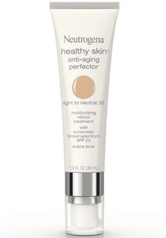 <img> The 9 Best Drugstore Tinted Moisturizers and BB Creams to Buy in Best for Mature Skin: Neutrogena Healthy Skin Anti-Aging Perfector - Best Anti Aging, Anti Aging Cream, Anti Aging Skin Care, Natural Skin Care, Natural Beauty, Beauty Care, Beauty Skin, Beauty Tips, Diy Beauty
