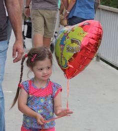 Jolinas erster Ballon First ballon