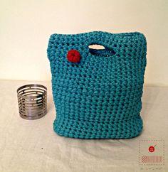 Medium Trapillo bag-Trapillo Purse-Tshirt by acoser2014 on Etsy