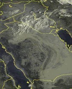 #شبكة_أجواء : السحب حاليا من خلال القمر الصناعي sat24 من #الزميل_داني_العراقي  #رابطة_أجواء_الخليج  @g.s.chasers  @alyasatnet