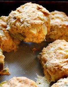 Green Chile and Cheese Biscuits