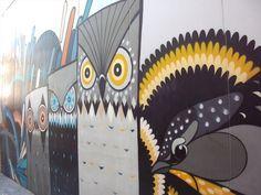 Grand Lane Mural - Perth, WA