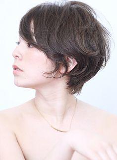 ☆大人女性のための上質パーマショート☆(髪型ショートヘア)
