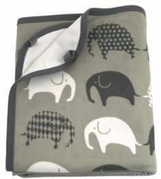 Littlephant cotton blanket $79 - Perch Home