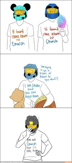 If you have never seen RvB, I can never make you understand how friggin cute this is!!!