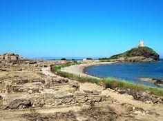 Nora, ancient ruins, near Villa I Pini: http://www.en.luxuryholidaysinsardinia.com/dettaglio-casa-vacanza/luxury-villa-i-pini  #chia #sardinia #holidays #holiday #paradise #nature #summer #travel #villaipini #rentvilla