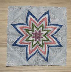 Folded Star by Greta @Geta's Quilting Studio (w/link to tutorial)