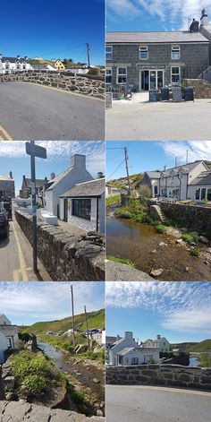 Spending a weekend in Aberdaron? Here's what to see and do whilst there with a dog - exploring the village and surrounding areas. Villages In Uk, Wales, Long Week-end, Week End, Seaside, Explore, Mansions, Country, House Styles