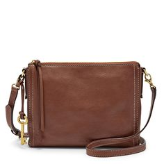 (It's easy to) be prepared thanks to Emma's structured silhouette and extra storage pockets when—and where—they're needed most. Whether you're hitting the town or the trails, carry your (survival) essentials with ease in our smooth glazed leather crossbody. (Bonus: It features adjustable straps for easy access and transport.)*Will be shipped separately from other products