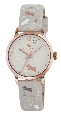 Radley Ladies Meadow Cream Leather Strap Watch RY2342