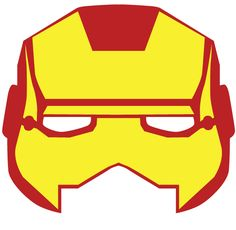 Superhero masks made in a day for the opening party of the SuperHeroes Amsterdam office. Feel free to use them and most importantly: have fun! Printable Halloween Masks, Printable Masks, Avengers Birthday, Superhero Birthday Party, Masque Iron Man, Theme Carnaval, Baby Club, Photo Booth Props, Mask For Kids