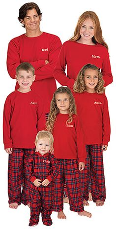 Stewart Plaid Pajamas for the Whole Family