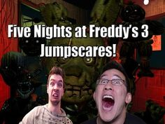 Markiplier and Jacksepticeye Five Nights at Freddy's 3 Jumpscares