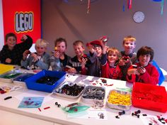 LEGOParty Games The 9 year old boys had such a blast at the party that I thought I'd post the games, we could have played each of them for so much longer.    Design your own LEGO® man: …