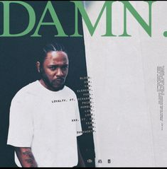 Kendrick Lamar Announces New Album 'DAMN.' With Artwork And Tracklist + Features With Kendrick Lamar 's highly anticipated album coming this week there is now less mystery surrounding its release. He's officially shared the project's cover art revealing the album's title DAMN . and now we know the only listed features are Rihanna and U2 with the full tracklist out now. The composer credits for DAMN. also surfaced following the preorder becoming available and reveals product..