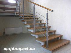 Лестница на металлическом косоуре своими руками