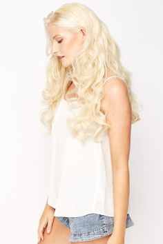 Curly Full Head Wig - 16 Colours - Just £5