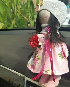 First hand made doll by me 😇