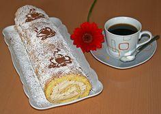 Biskuitrolle mit Kaffeecreme, ein gutes Rezept aus der Kategorie Torten. Bewertungen: 42. Durchschnitt: Ø 4,5.