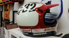 Bob Hannah Honda Helmet Replica