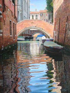 Licio Passon: Venezia, Pulsioni 80×60 olio su tavola