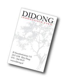 Home   Didong - Indonesisch eten, ook afhalen. 2e Sweelinckstraat, Den Haag
