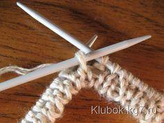 Эластичная резинка 2х2   Клубок Knitting Paterns, Knitting Charts, Knitting Stitches, Knitting Needles, Knit Patterns, Cast On Knitting, Easy Knitting, Crochet Abbreviations, Hobbies And Crafts