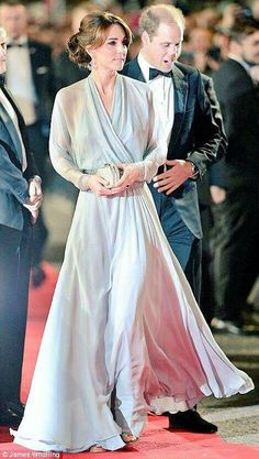 Kate and William at the Spectre premiere, October 26, 2015